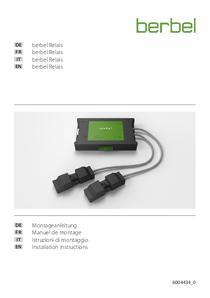 Istruzioni di montaggio berbel ConnectionBox Relais