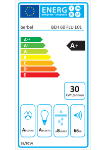 Energy-label berbel BEH 60 FLU