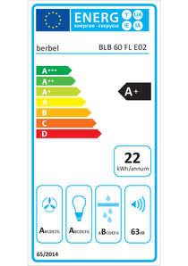 Energy-label berbel BLB 60 FL
