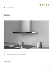 Istruzioni per l'uso e il montaggio cappa a parete Glassline BWH 90 GL