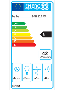 Energy-label berbel BKH 120 FO