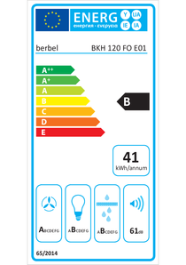 Energy-label berbel BKH 120 FO