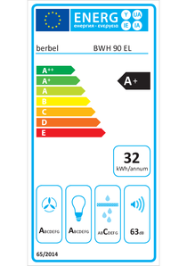 Energy-label berbel Emotionline BWH 90 EL