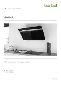 Cappa a parete (headfree) istruzioni di montaggio e d'uso per i modelli BKH Glassline 2