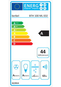 Energy-label berbel BLB 100 ML