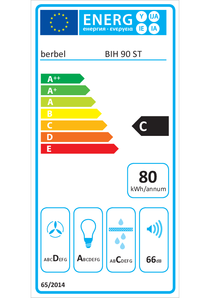 Energy-label berbel BIH 90 ST
