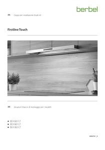 Cappa per installazione (built-in) Istruzioni d'uso e di montaggio per i modelli BEH FLT