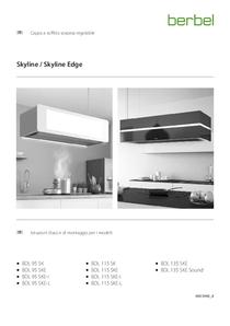 Cappa a soffitto sospesa regolabile Istruzioni d'uso e di montaggio per i modelli BDL SK/SKE/SKE-I/SKE-L/SKE-S