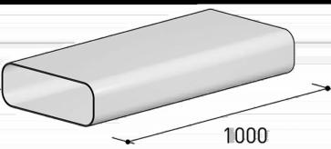 Sistema 125 – Canale piatto