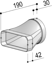 Sistema 150 – <strong>Conduttura di giunzione dritta</strong>