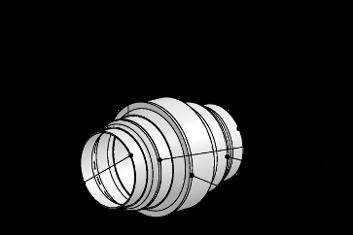 Sistema 125 – <strong>Coppa di raccolta acqua di condensa</strong>